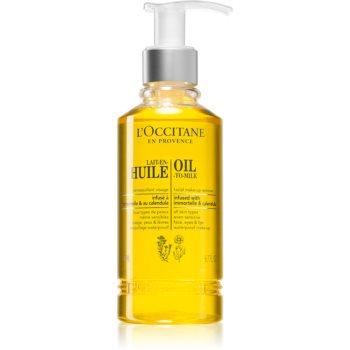 L'Occitane Lait-En-Huile ulei demachiant pentru o piele radianta