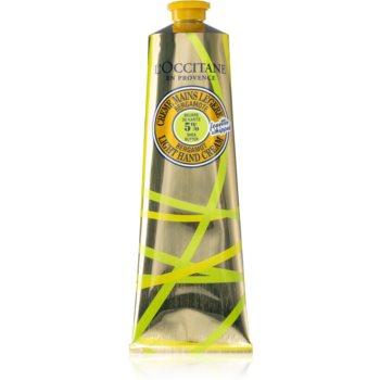 L'Occitane Shea Butter Bergamot Light Hand Cream crema de maini unt de shea