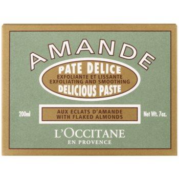 L'Occitane Amande telový peeling s mandľovým olejom 2
