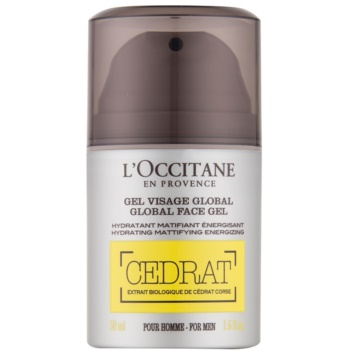 LOccitane Cedrat gel hidratant matifiant