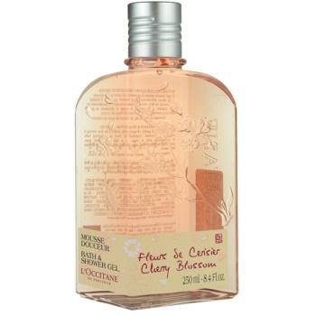 Fotografie L'Occitane Fleurs de Cerisier sprchový gel 250 ml