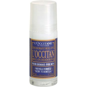 L'Occitane Pour Homme Deodorant roll-on pentru barbati