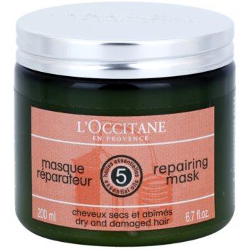 L'Occitane Hair Care відновлююча та зволожуюча маска для волосся з бамбуковою олійкою