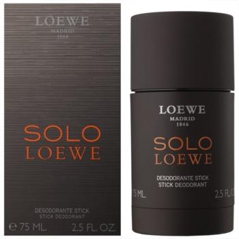 Loewe Loewe Solo deostick pentru barbati 75 ml