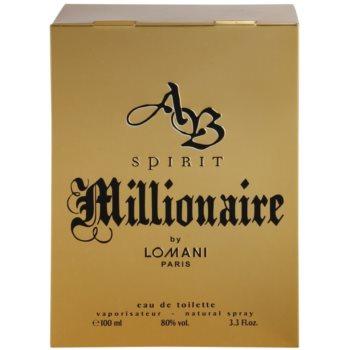 Lomani AB Spirit Millionaire eau de toilette férfiaknak 4