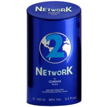 Lomani Network Blue тоалетна вода за мъже 4