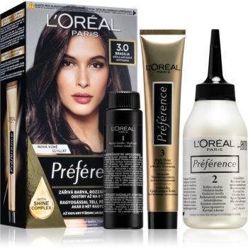 L'Oréal Paris Préférence barva na vlasy odstín 3.0 Brasilia