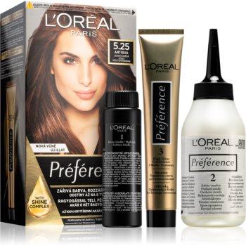 L'Oréal Paris Préférence barva na vlasy odstín 5.25 Antigua