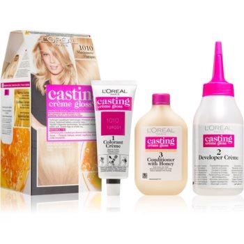 L'Oréal Paris Casting Crème Gloss barva na vlasy odstín 1010 Marzipan