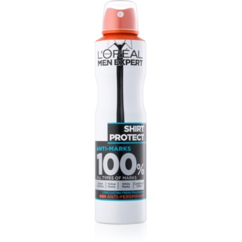 l'oréal paris men expert shirt protect spray anti-perspirant