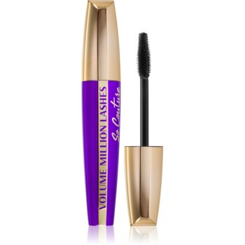 L'Oréal Paris Volume Million Lashes So Couture řasenka pro objem a natočení řas odstín Black 9,5 ml