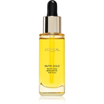 L'Oréal Paris Nutri-Gold vyživující pleťový olej 30 ml