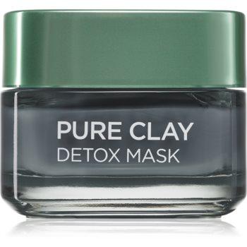 L'Oréal Paris Pure Clay mască detoxifiantă imagine