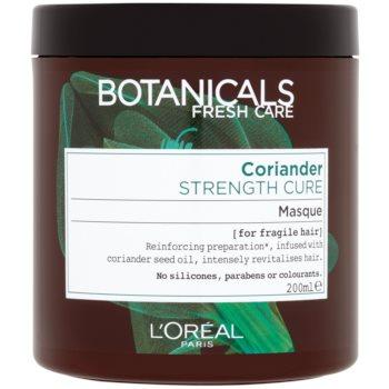 l'oréal paris botanicals strength cure masca pentru par deteriorat