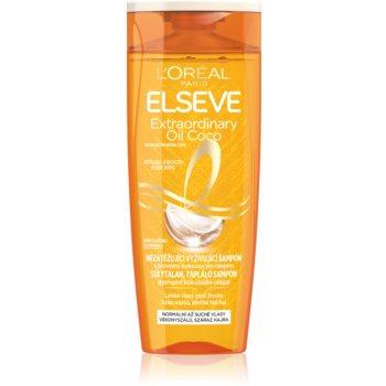 L'Oréal Paris Elseve Extraordinary Oil Coconut sampon hranitor pentru par normal spre uscat poza noua