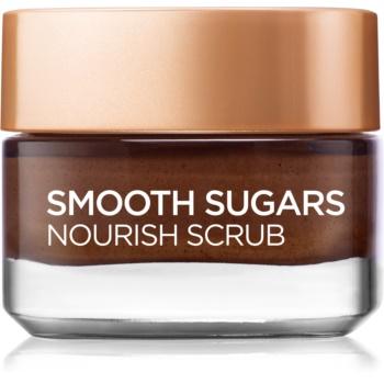 L'Oréal Paris Smooth Sugars Scrub exfoliant pentru a netezi pielea și de nutriție
