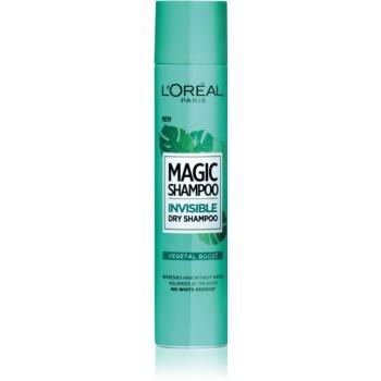L'Oréal Paris Magic Shampoo Vegetal Boost ?ampon uscat pentru volum, care nu lasã urme albe imagine produs