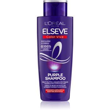 L'Oréal Paris Elseve Color-Vive Purple šampon neutralizující žluté tóny 200 ml