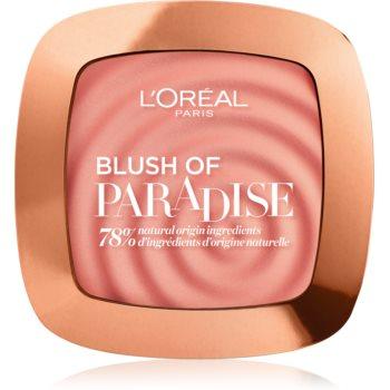 L'Oréal Paris Wake Up & Glow Melon Dollar Baby blush pentru toate tipurile de ten poza noua
