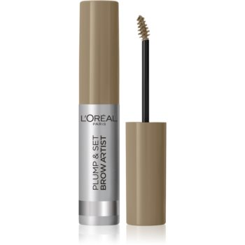 L'Oréal Paris Brow Artist Plump and Set gel na obočí odstín 101 Blonde 4,9 ml
