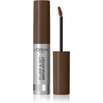 L'Oréal Paris Brow Artist Plump and Set gel na obočí odstín 105 Brunette 4,9 ml