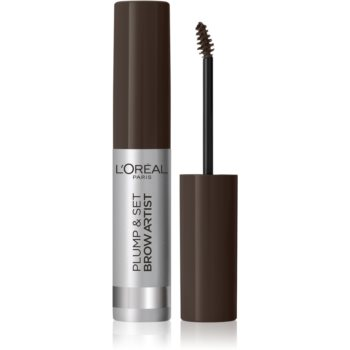 L'Oréal Paris Brow Artist Plump and Set gel na obočí odstín 108 Dark Brunette 4,9 ml