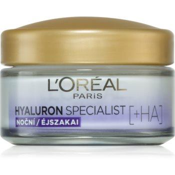 L'Oréal Paris Hyaluron Specialist crema de completare pentru noapte. poza noua