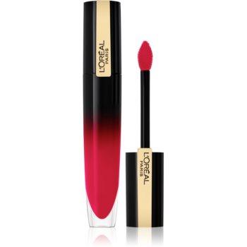 L'Oréal Paris Brilliant Signature ruj de buze lichid lucios poza noua