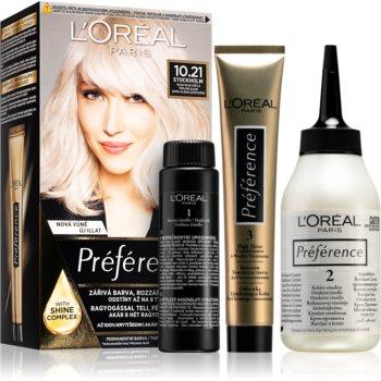 L'Oréal Paris Préférence barva na vlasy odstín 10.21 Stockholm