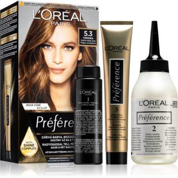 L'Oréal Paris Préférence barva na vlasy odstín 5.3 Virginia