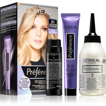 L'Oréal Paris Préférence barva na vlasy odstín 8.1 Copenhaguen