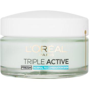 LOréal Paris Triple Activ Fresh gel crema pentru piele normala si mixta