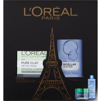 LOréal Paris Pure Clay set cosmetice I.