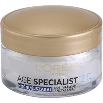 L'Oréal Paris Age Specialist 35+ crema de noapte antirid