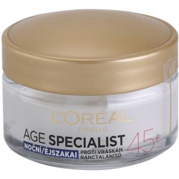 LOréal Paris Age Specialist 45+ crema de noapte antirid