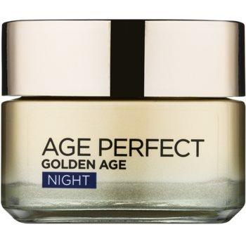 L'Oréal Paris Age Perfect Golden Age crema de noapte pentru contur pentru ten matur  50 ml