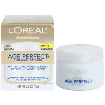 L'Oréal Paris Age Perfect dnevna vlažilna krema proti staranju kože SPF 15 2