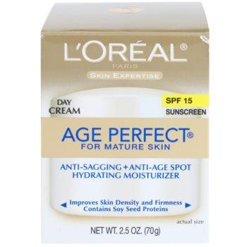 L'Oréal Paris Age Perfect dnevna vlažilna krema proti staranju kože SPF 15 3