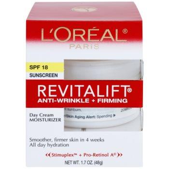 L'Oréal Paris Revitalift Anti-Wrinkle + Firming denný krém proti vráskam SPF 18 2
