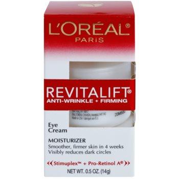 L'Oréal Paris Revitalift Anti-Wrinkle + Firming Anti-Falten Augencreme 2