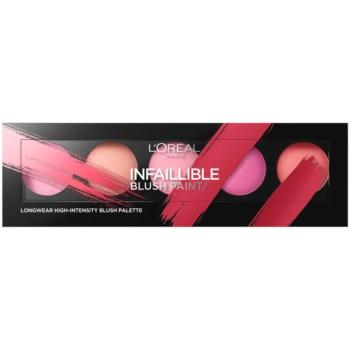 L'Oréal Paris Infaillible Blush Paint paleta fard de obraz