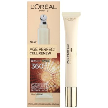 L'Oréal Paris Age Perfect Cell Renew Tratament pentru ochi impotriva ridurilor si cearcanelor 1