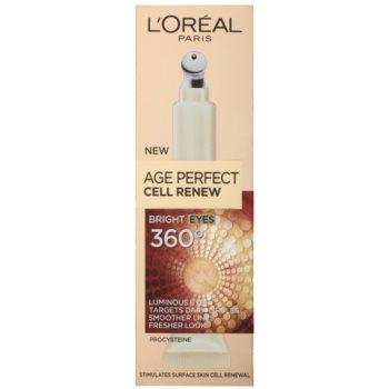 L'Oréal Paris Age Perfect Cell Renew Tratament pentru ochi impotriva ridurilor si cearcanelor 2