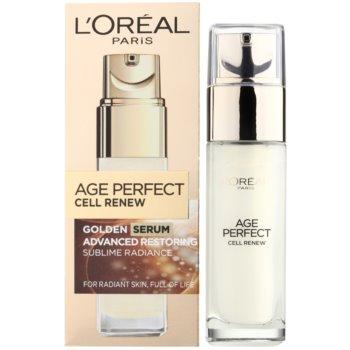 L'Oréal Paris Age Perfect Cell Renew ser pentru ten matur 1