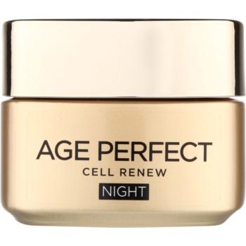 LOréal Paris Age Perfect Cell Renew crema de noapte pentru regenerarea celulelor pielii