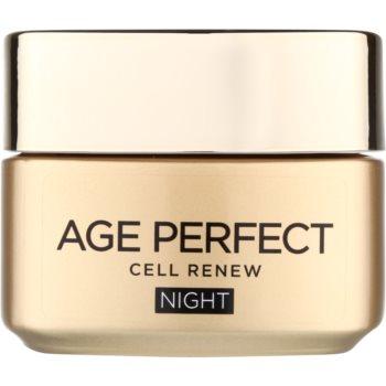 L'Oréal Paris Age Perfect Cell Renew crema de noapte pentru regenerarea celulelor pielii