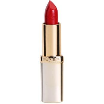 Fotografie L'Oréal Paris Color Riche hydratační rtěnka odstín 377 Perfect Red 3,6 g