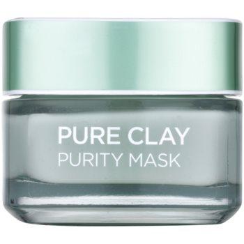 LOréal Paris Pure Clay spumă de curățare cu efect matifiant