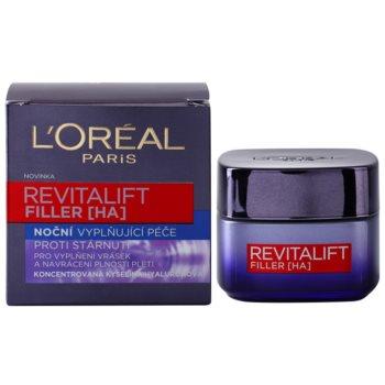 L'Oréal Paris Revitalift Filler попълващ нощен крем анти стареене 2