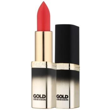 Image of L'Oréal Paris Color Riche Gold Obsession Lipstick With 24 Carat Gold Color Rouge Gold 7 ml